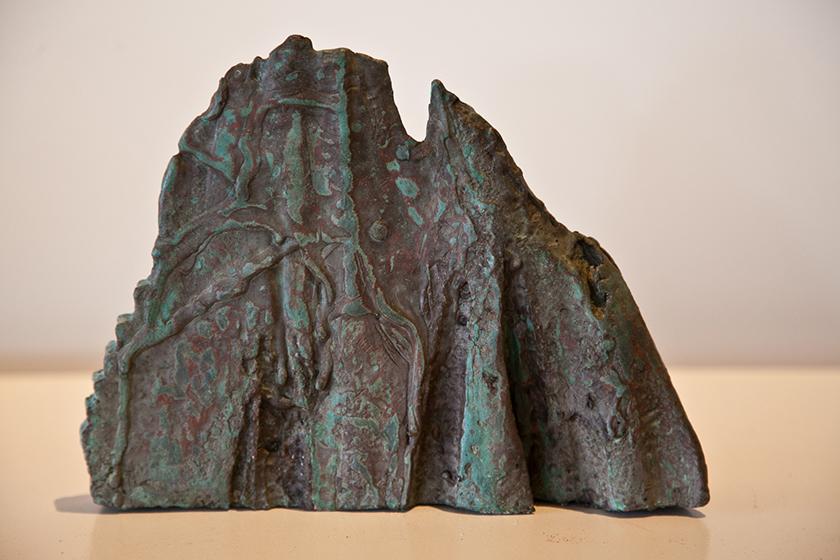 'Mystic mountain' Bronze 25 x 19 x 5cms